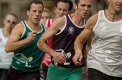 Action from the final of the WH Earle 550 metre handicap