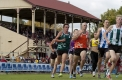 Action from the Victory Restricted 1600 metre handicap final