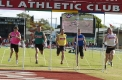 Matthew Wiltshire (far right) takes out the 2012 Australia Post Stawell Gift.