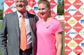 Minister for Sport and Recreation Damian Drum with Melissa Breen