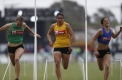 Australia Post Strickland Family Women's Gift. Semi finals.  Caitlin Hawks, Tori West, Grace O'Dwyer.