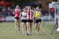 Lorraine Donnan Women's Handicap- 400m.  Heat 1. Jacqueline Scott