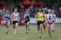 Lorraine Donnan Women's Handicap- 400m.  Heat 5. Eleni Gilden.