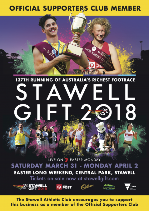 Official supporters club stawell gift sg006 a0 supporters club poster poster negle Image collections